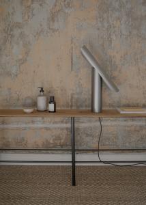 T Lamp Steel Frama Lighting5198