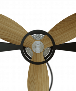 Natural Ash Wood Rotor Blades Fan Aura Ttato