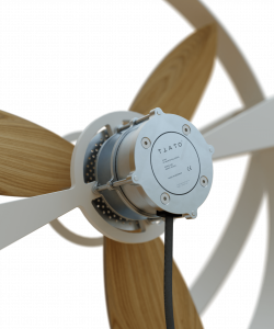 Wooden Fan Energy Efficient Ec Motor Aura Ttato