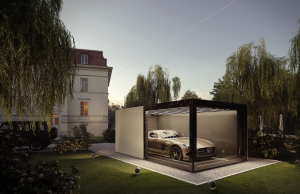 Fahrengolf Fg 1 X Mercedes Amg Sls   Rendering Back View