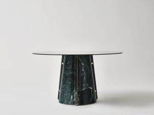 Lithosdesign Elitra Verde Tinos 1 Exclusive Marble Dining Tables