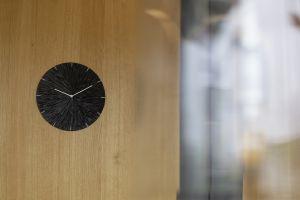 Adela Bacova Tilia Clock Black Interior 2
