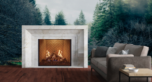 Wilderness Collection Fireplace In Woods